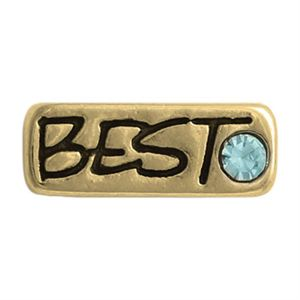Picture of 'Best' Gold Charm